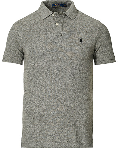 Polo Ralph Lauren Slim Fit Polo Canterbury Heather i gruppen Klær / Pikéer / Kortermet piké hos Care of Carl (14315811r)