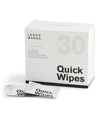 Jason Markk Quick Wipes, 30 sheets   i gruppen Sko / Skopleie / Skopusseredskap hos Care of Carl (14329510)
