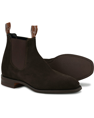 R.M.Williams Blaxland Chocolate Suede i gruppen Sko / Støvler / Chelsea boots hos Care of Carl (14346611r)