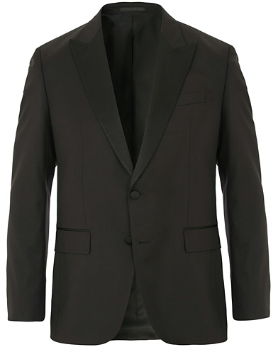 BOSS Halwod Peak Lapel Tuxedo Blazer Black i gruppen Klær / Dressjakker / Smokingjakker hos Care of Carl (14372311r)