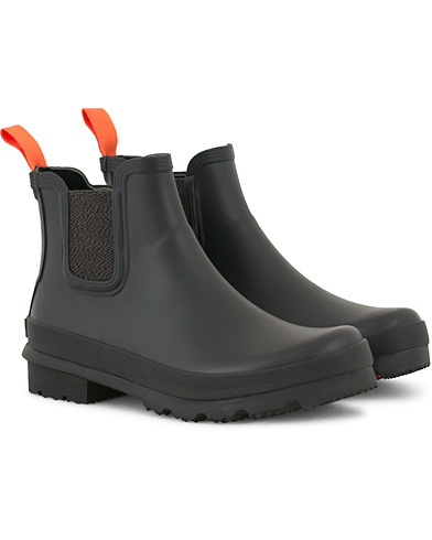 Swims Charlie Rain Chelsea Boot Black i gruppen Sko / Støvler / Chelsea boots hos Care of Carl (14389611r)