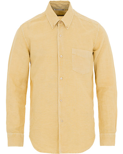 Our Legacy Classic Shirt Cotton/LinenFade Yellow