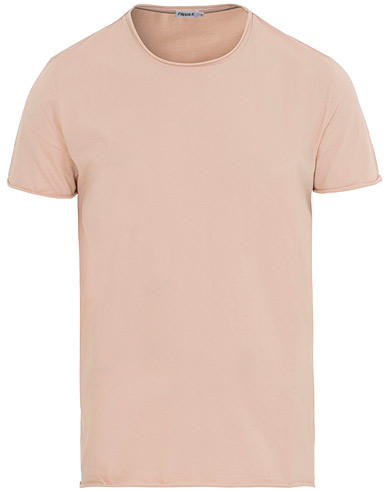 Filippa K Roll Neck Tee Dusty Pink