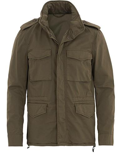 Aspesi Cotton Field Jacket Green