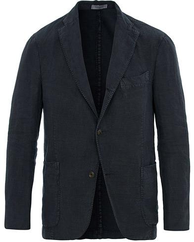 Boglioli K Jacket Linen Blazer Navy