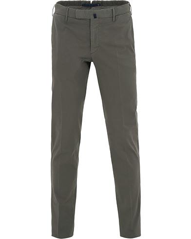 Incotex Slim Fit Stretch Chinos Grey