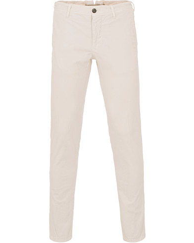 Incotex Slim Fit Stretch Slacks Off White