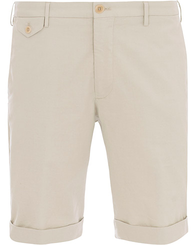 Incotex Ice Cotton Shorts Off White
