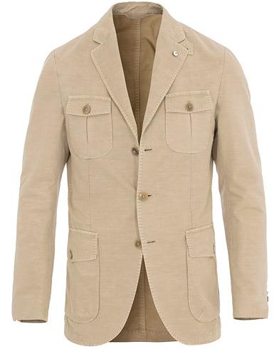 L.B.M. 1911 Paul Regular Safari Jacket Khaki
