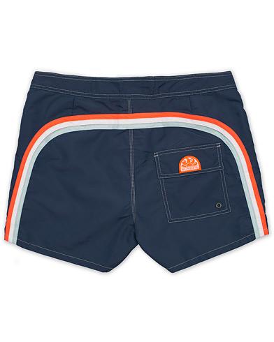 Sundek Rainbow Mid Length Swim Shorts Navy W28