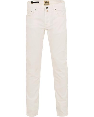 Morris James Texture 5-Pocket Trousers Off White