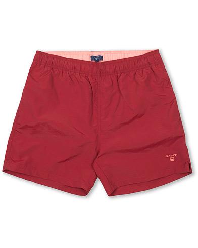 GANT Classic Swim Shorts Basic Mahogny Red