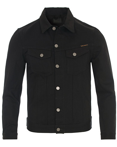 Nudie Jeans Billy Jeans Jacket Dry Black Denim i gruppen Klær / Jakker hos Care of Carl (14733211r)