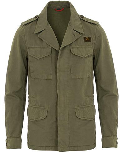 Fay Escape Cotton Field Jacket Military Green