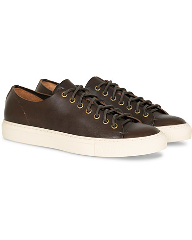 Buttero Calf Sneaker Dark Brown i gruppen Sko / Sneakers / Sneakers med lavt skaft hos Care of Carl (14768511r)