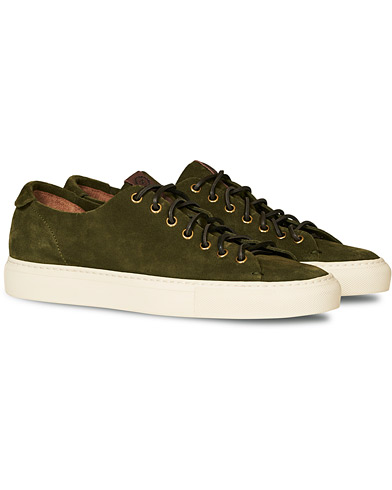 Buttero Suede Sneaker Green i gruppen Sko / Sneakers / Sneakers med lavt skaft hos Care of Carl (14768811r)