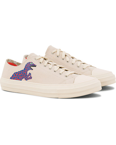 PS Paul Smith Kinsey Canvas Sneaker Ivory
