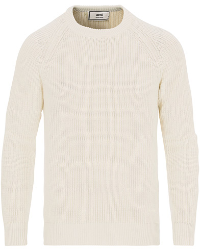 AMI Manches Raglan Pullover White