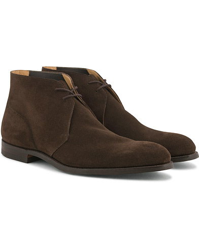 Crockett & Jones Hartland 2 City Unlined Chukka Brown Suede