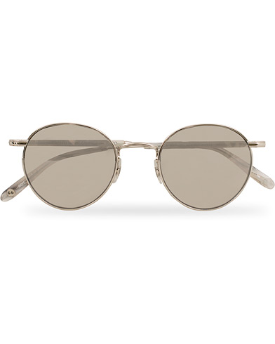 Garrett Leight Wilson M 49 Sunglasses Moonrock/Grey Shadow Gradient  i gruppen Assesoarer / Solbriller / Runde solbriller hos Care of Carl (14860410)