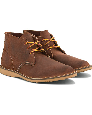 Red Wing Shoes Weekender Chukka Maple Muleskinner Leather i gruppen Sko / Støvler / Chukka boots hos Care of Carl (14860611r)