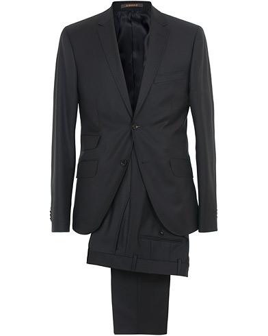 Morris Charles Wool Suit Navy