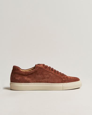 Sweyd Sneaker Mattone Suede