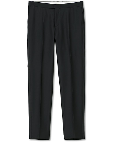 Oscar Jacobson Duke Tuxedo Trouser Black i gruppen Klær / Bukser / Smokingbukser hos Care of Carl (14950311r)