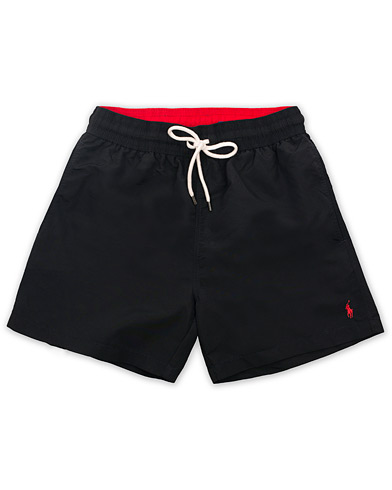 Polo Ralph Lauren Traveler Boxer Swimshorts Polo Black i gruppen Klær / Badeshorts hos Care of Carl (14953611r)