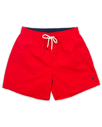 Polo Ralph Lauren Traveler Boxer Swimshorts RL Red i gruppen Klær / Badeshorts hos Care of Carl (14953711r)