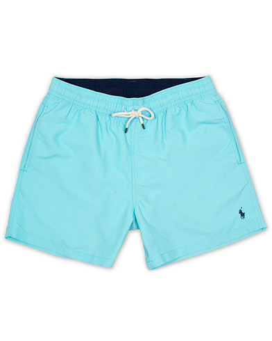Polo Ralph Lauren Traveler Boxer Swimshorts Hammond Blue i gruppen Klær / Badeshorts hos Care of Carl (14953911r)