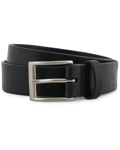 Tärnsjö Garveri Leather Belt 3cm Black i gruppen Assesoarer / Belter / Umønstrede belter hos Care of Carl (14958011r)