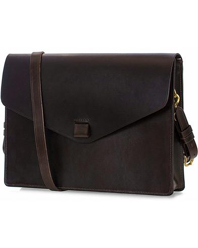 Tärnsjö Garveri Messenger Bag 3-In-1 Dark Brown