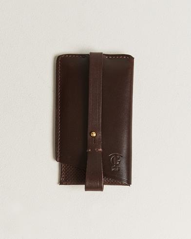 Tärnsjö Garveri Key Wallet Dark Brown
