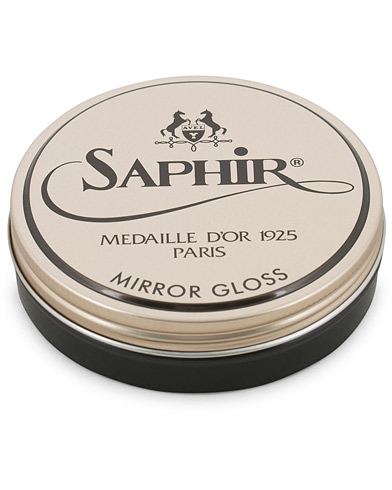 Saphir Medaille d'Or Mirror Gloss 75 ml Dark Brown  i gruppen Sko / Skopleie / Skopleieprodukter hos Care of Carl (14965110)