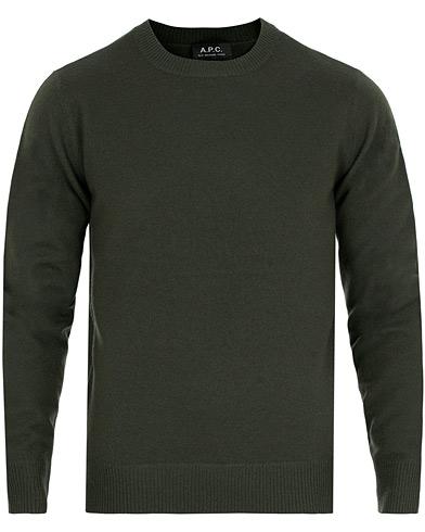 A.P.C Han Sweater Vert Sapine
