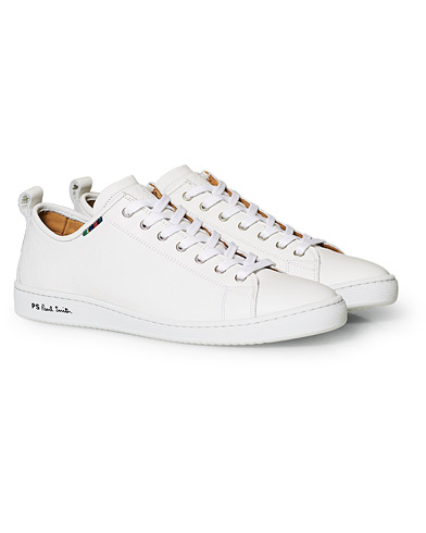 PS Paul Smith Miyata Leather Sneaker White i gruppen Sko / Sneakers / Sneakers med lavt skaft hos Care of Carl (15019011r)