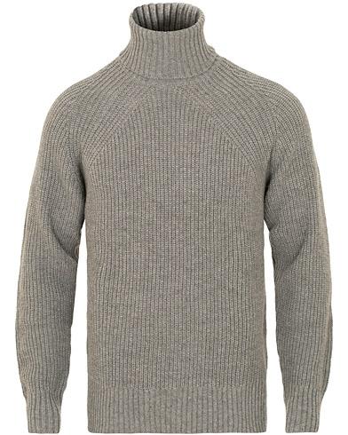 Filippa K Winter Wool Turtleneck Grey Melange