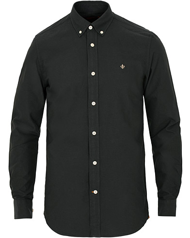Morris Oxford Solid Shirt Black i gruppen Klær / Skjorter / Casual / Oxfordskjorter hos Care of Carl (15060411r)