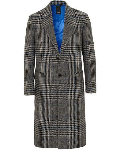 J.Lindeberg James Wool Prince of Wales Coat Wonder Blue