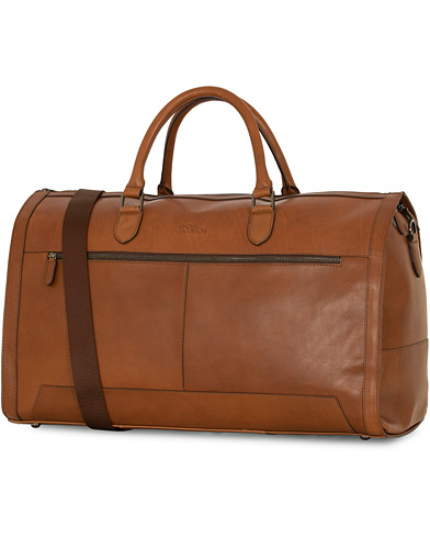 Oscar Jacobson Leather Weekendbag Midbrown  i gruppen Assesoarer / Vesker / Weekendbager hos Care of Carl (15126110)