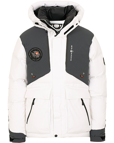 Sail Racing Antarctica Expedition Jacket White i gruppen Klær / Jakker / Dunjakker hos Care of Carl (15136011r)