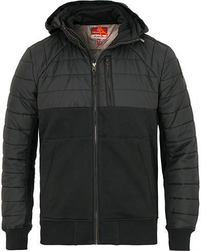 Parajumpers Gordon Hooded Fleece Jacket Black i gruppen Klær / Jakker / Tynne jakker hos Care of Carl (15142611r)