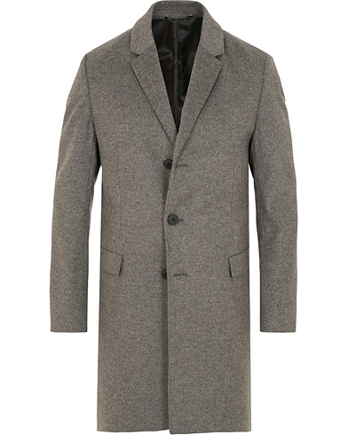HUGO Migor Wool/Cashmere Coat Grey