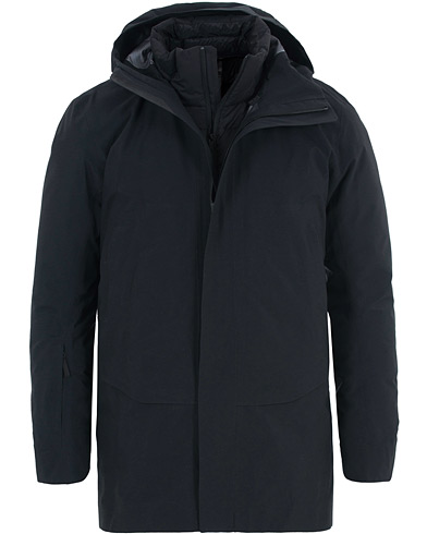 Arc'teryx Veilance Patrol Down Coat Black i gruppen Klær / Jakker / Parkas hos Care of Carl (15173811r)
