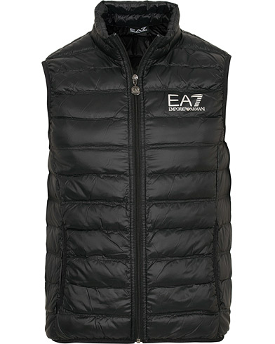 EA7 Train Core Light Down Vest Black i gruppen Klær / Vester hos Care of Carl (15191611r)