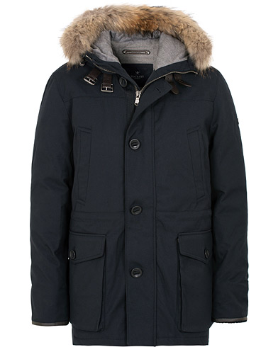 Hackett Artic Parka Navy i gruppen Klær / Jakker / Parkas hos Care of Carl (15193111r)