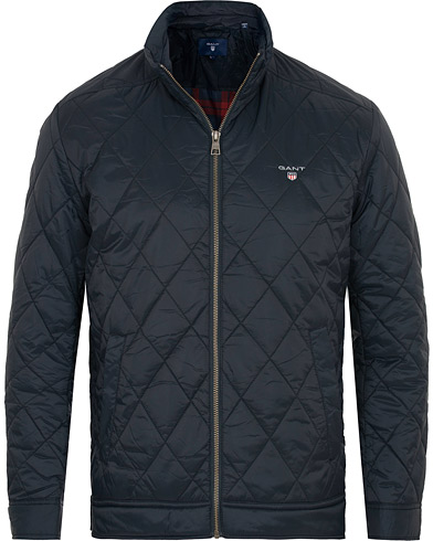 GANT The Quilted Windcheater Navy i gruppen Klær / Jakker / Quiltede jakker hos Care of Carl (15203911r)