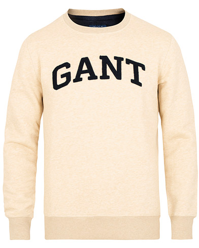 GANT Gift Giving Crew Neck Sweatshirt Manila Melange i gruppen Klær / Gensere / Sweatshirts hos Care of Carl (15209611r)
