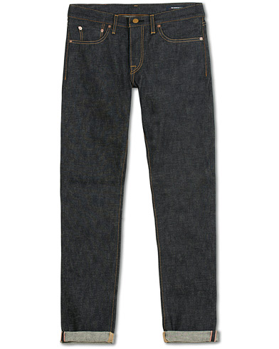 The Workers Club Slim Fit Jeans Raw Indigo Selvedge